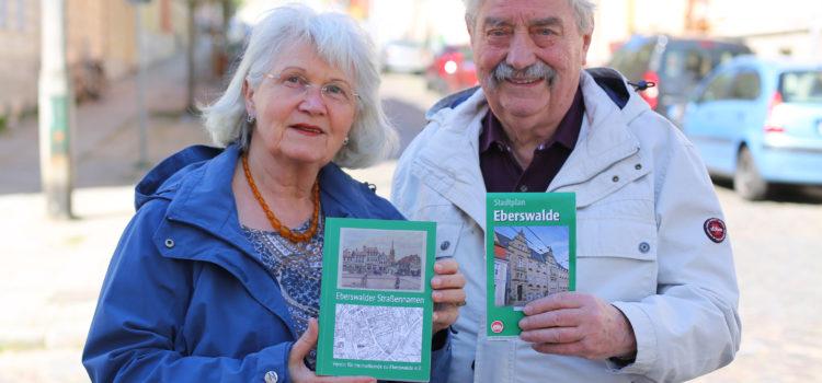 """Buch """"Eberswalder Straßennamen"""" erschienen"""