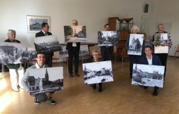 Eberswalder Benefizkalender zeigt Stadtansichten der Maria-Magdalenen-Kirche
